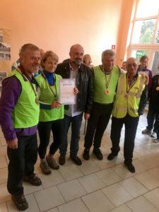 Переможці Кубку ветеранів спортсмени Київської області: перше та друге місце